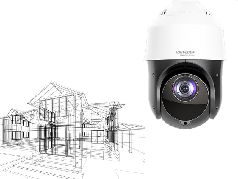 Kamery, monitoring CCTV domu obiektu budynku firmy